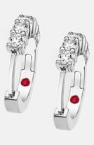 Roberto Coin Women's Diamond Hoop Earrings