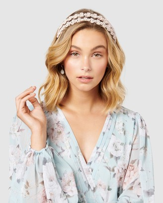 Forever New Maia Mini Floral Double Headband