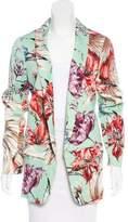 Fausto Puglisi Floral Print Blazer w/ Tags