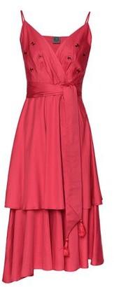 8 By YOOX 3/4 length dress