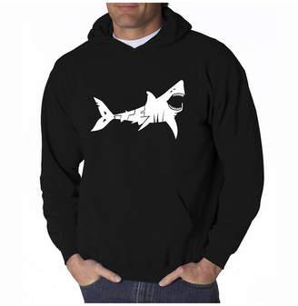La Pop Art Men Word Art Hooded Sweatshirt - Bite Me
