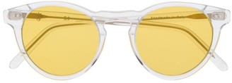 Eleventy Transparent Cat Eye Sunglasses