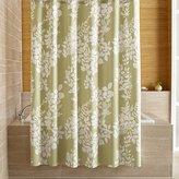 Crate & Barrel Marimekko Kukkula Green Shower Curtain