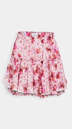 MISA Marion Ruffle Skirt