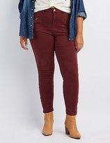 Charlotte Russe Plus Size Refuge Skinny Cargo Pants