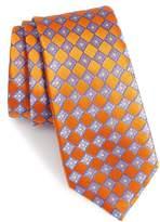 Nordstrom Floral Squares Silk Tie
