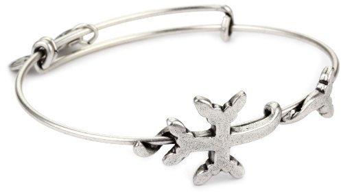 "Alex and Ani Spiritual Armour Wrap ""Armenian Cross"" Bangle Bracelet"