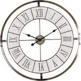 Casa Uno Roman Numeral Mesh Wall Clock, 80cm