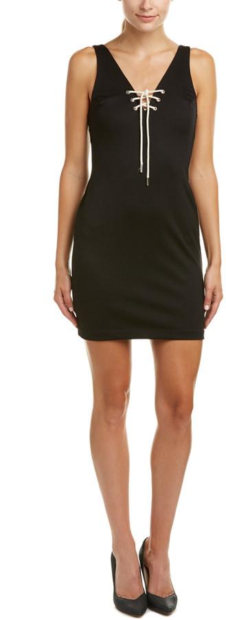 Amanda Uprichard Serena Lace-Up Dress