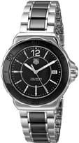 Tag Heuer Women's WAH1210BA0859 Formula One Black Dial Watch
