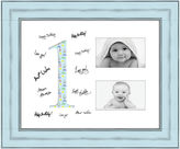 JCPenney 1 Year Signature Mat 2-Opening 4x6 Collage Picture Frame