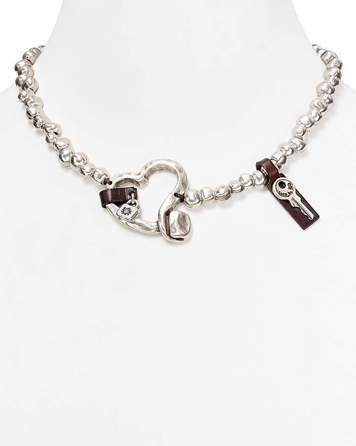 """Uno de 50 Heartfelt Necklace, 18"""""""