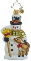 Christopher Radko Good Friends Forever Snowman Ornament