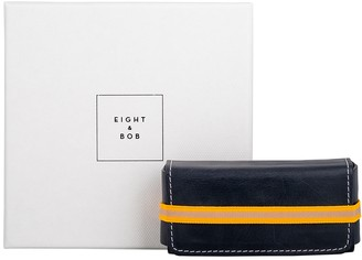 Eight & Bob Night Blue Leather Fragrance Case 30ml