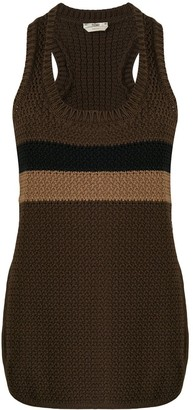 Fendi Scoop Neck Knitted Top