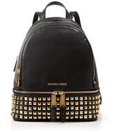MICHAEL Michael Kors Small Rhea Zip Studded Backpack