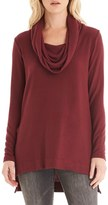 Michael Stars Women's Cowl Neck High/low Tunic Sweater