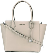 MICHAEL Michael Kors logo plaque tote bag - women - Leather - One Size
