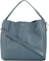 Furla grained effect tote
