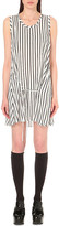 McQ by Alexander McQueen Pinstripe tie-waist dress