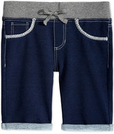 Imperial Star 7and#034; Knit Bermuda Shorts, Big Girls (7-16)