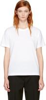 Acne Studios White Nash Face T-Shirt