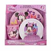 Disney Minnie's Bow-tique 3-Piece Dinnerware and Drinkware Gift Set