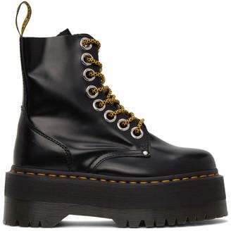 Dr. Martens Black Jadon Max Boots