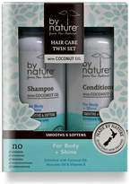Lanocorp By Nature Hair Care Twin Set Body and Shine - With Coconut,Oil, Avocado Oil & Vitamin E