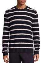 Vince Wool Blend Textured Knit Sweater