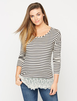 A Pea in the Pod High-low Hem Maternity T Shirt