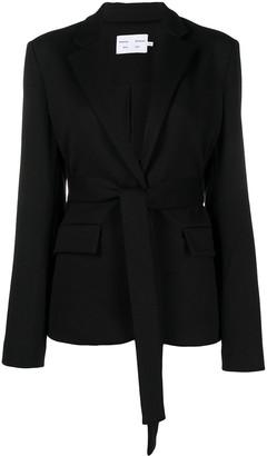 Proenza Schouler White Label Belted Waist Blazer Jacket