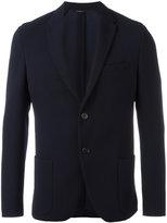 Fendi embossed blazer - men - Cotton/Polyester/Acetate/Viscose - 48