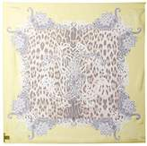 Roberto Cavalli Women's Patterned Silk Scarf