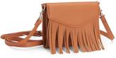 Fringe Tech Crossbody Bag