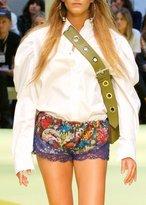 Marques Almeida Puff Sleeve Shirt Lilac