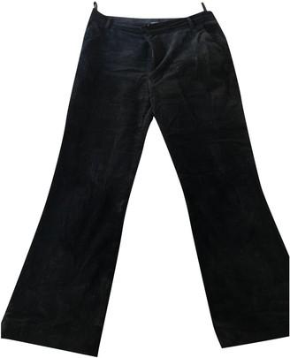 soeur Black Velvet Trousers