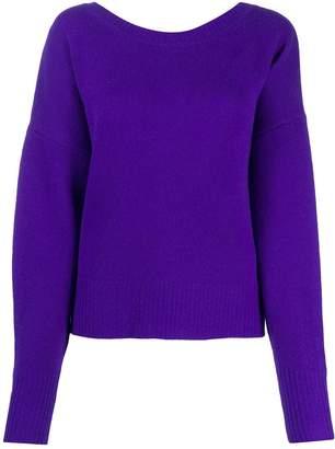 Isabel Marant button-back blouson-sleeved cardigan