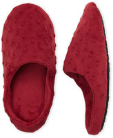 Dearfoams Dot Velour Clog Slippers