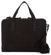AllSaints Aichi Cow Leather Trim Work Bag