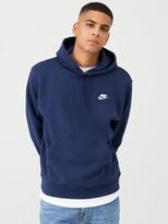 Nike Sportswear Club Fleece Overhead Hoodie- Navy