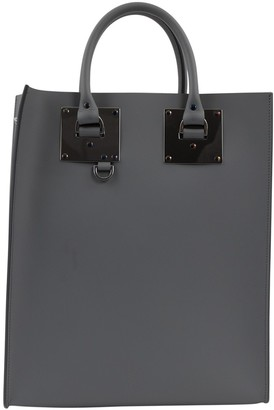 Sophie Hulme Grey Leather Handbags