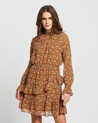 Only Kiara Chiffon LS Smock Dress