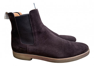 Common Projects Brown Pony-style calfskin Boots