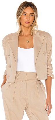GRLFRND Power Crop Blazer