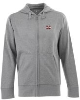 Antigua Men's Mississippi State Bulldogs Signature Full-Zip Fleece Hoodie