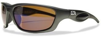 Amphibia Hydrafoil Amber Wave Sunglasses w/ Aquaphobic Coating, Gun Metal