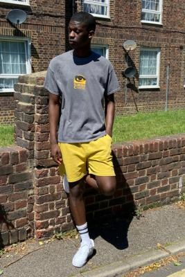 iets frans... Mustard Men's Jogger Shorts - Assorted L at Urban Outfitters