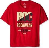 Rocawear Men's Big and Tall Roc 99 Short Sleeve Tee