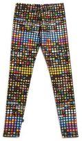 Terez Girl's Emoji Leggings